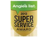Angies List award logo