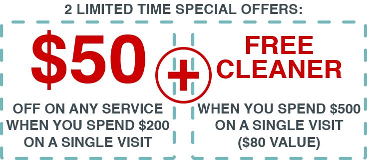January special offer for grout cleaning