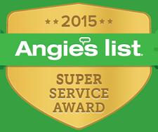 Angie's List Award Winner
