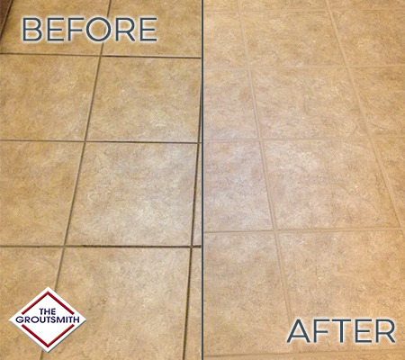 Grout & Tile Cleaning - Tulsa