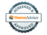 HomeAdvisor Approved logo